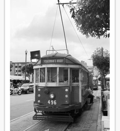 San Francisco Trolley Car Sticker