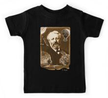 Jules Verne Tribute (natural creme white) Kids Tee