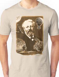 Jules Verne Tribute (natural creme white) Unisex T-Shirt