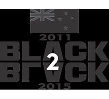 BLACK to BLACK Photographic Print