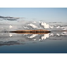 Island-Clouds-Water Photographic Print