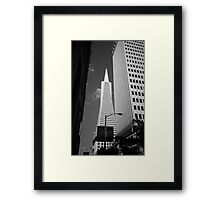 San Francisco - Transamerica Pyramid Building Framed Print