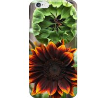 A Sunflower Set ( 4 ) Watching Over iPhone Case/Skin
