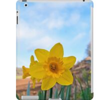 Daffodil flower iPad Case/Skin