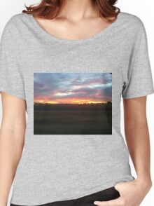 Sunset in Cali Women's Relaxed Fit T-Shirt
