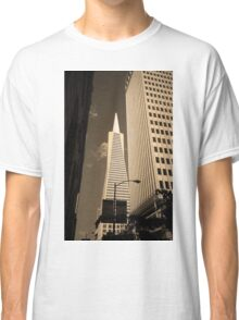 San Francisco - Transamerica Pyramid Building Classic T-Shirt