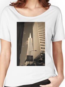San Francisco - Transamerica Pyramid Building Women's Relaxed Fit T-Shirt