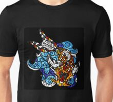 Koi Splash Unisex T-Shirt