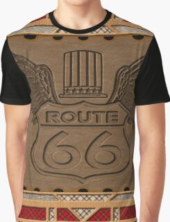 Route 66 america highway USA historic Graphic T-Shirt