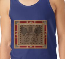 Route 66 america highway USA historic Tank Top