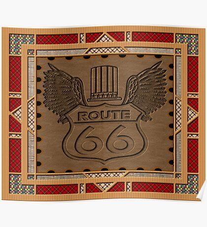 Route 66 america highway USA historic Poster