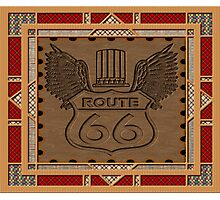 Route 66 america highway USA historic Photographic Print