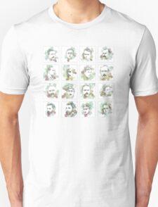 1916 commemorative print: 16 leaders square T-Shirt