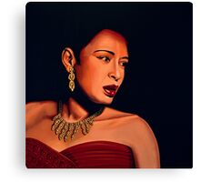 Billie Holiday painting Canvas Print