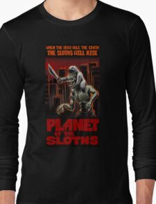 Planet Of The Sloths Long Sleeve T-Shirt