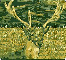 Pixel Deer by dducke