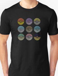 Eeveelution Pokeballs (Light) T-Shirt