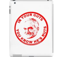 ANTI-BARRY GOLDWATER SLOGAN iPad Case/Skin
