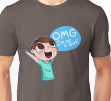 OMG I'm on a Shirt (Happy Double) Unisex T-Shirt