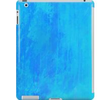 Painted Blue Grunge iPad Case/Skin