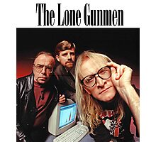 Lone Gunmen Photographic Print