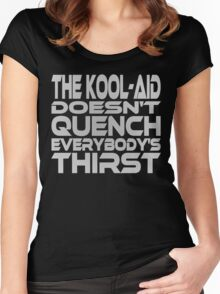Thirsty? (Grey) Women's Fitted Scoop T-Shirt