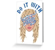 Do it with Charlotte Flair Greeting Card