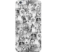 love and hugs iPhone Case/Skin