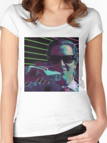 American Psycho calling Women's Fitted Scoop T-Shirt