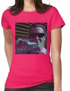 American Psycho calling Womens Fitted T-Shirt