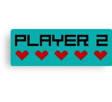 Player 2 Canvas Print