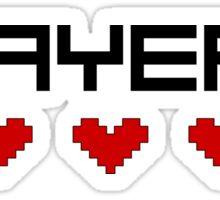Player 2 Sticker
