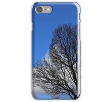 Winter Tree and Clouds 3 iPhone Case/Skin
