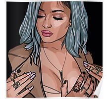 Kylie Jenner Vector Poster