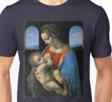 Leonardo da Vinci Madonna Litta Unisex T-Shirt