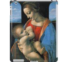 Leonardo da Vinci Madonna Litta iPad Case/Skin