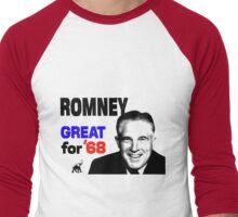 ROMNEY GREAT FOR 68 Men's Baseball ¾ T-Shirt