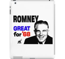 ROMNEY GREAT FOR 68 iPad Case/Skin