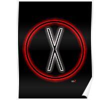 X light logo Poster