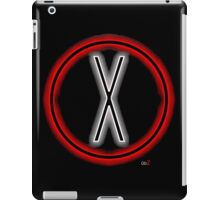 X light logo iPad Case/Skin