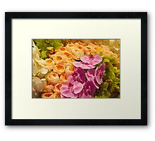 Orchid Topiary Framed Print