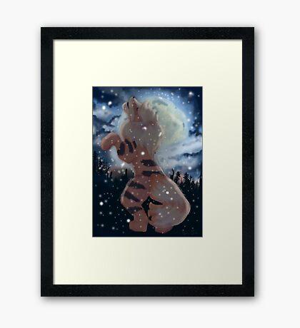 I'm Alive  Framed Print