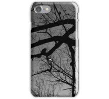 Graceful Winter Tree BW iPhone Case/Skin
