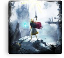 Light can beat all Canvas Print