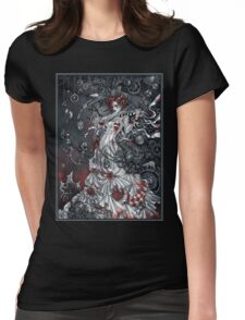Magic violin Womens Fitted T-Shirt