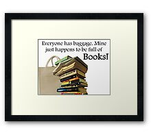 Books/Reading Framed Print