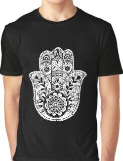 The Hamsa Hand Graphic T-Shirt