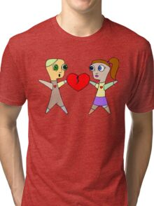 Voodoo Love (M/F) Tri-blend T-Shirt