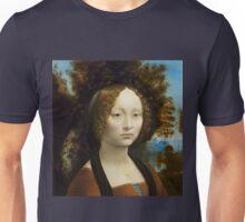 Leonardo da Vinci Ginevra de' Benci Unisex T-Shirt