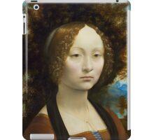 Leonardo da Vinci Ginevra de' Benci iPad Case/Skin